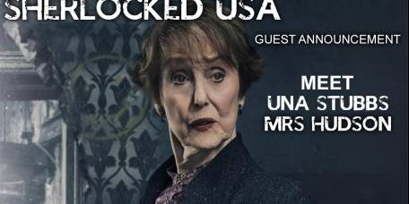 Mrs Hudson is coming to LA!